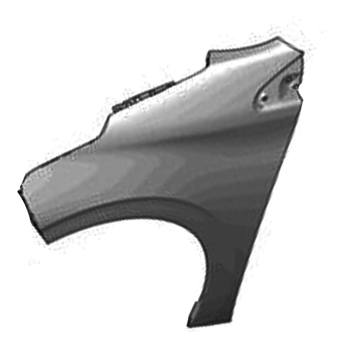 Guardabarros delantero izquierdo para peugeot 9672994980