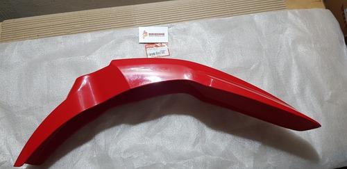 guardabarro delantero original honda xr 250 tornado rojo