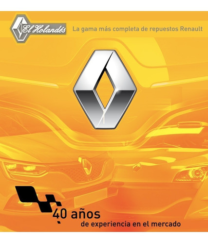 guardabarro delantero renault fuego gta original