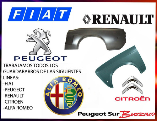 guardabarro delantero renault scenic 2000/