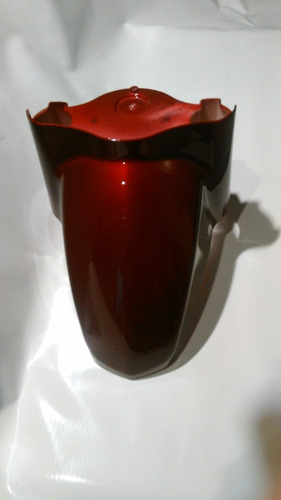 guardabarro delantero rojo oscuro (el) zanella styler 150 e