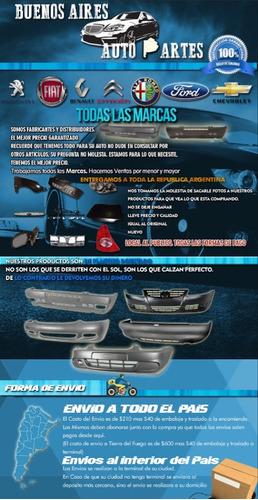 guardabarro fiat 600 delantero + trasero + frente combo x5