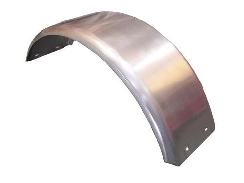 guardabarro para trailer curvo de aluminio rodado 13  ó 14