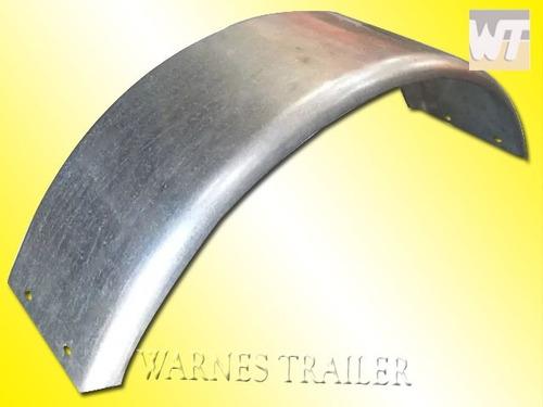 guardabarro para trailer  redondo galvanizado 13 - 14