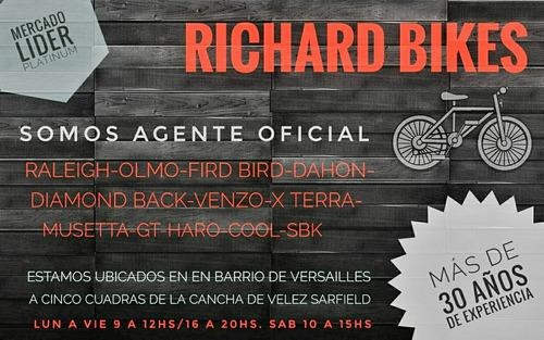 guardabarros negros para bicicletas rod 26 richard bikes