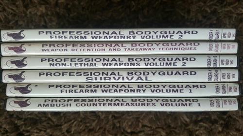 guardaespalda profesional dvds