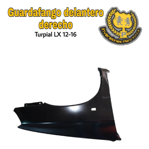 guardafango delantero derecho turpial  lx 12-16