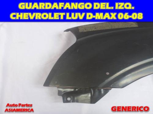 guardafango delantero izquierdo chevrolet luv d-max 06 07 08