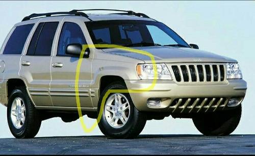 guardafango delantero jeep grand cherokee milenium 1999-2005
