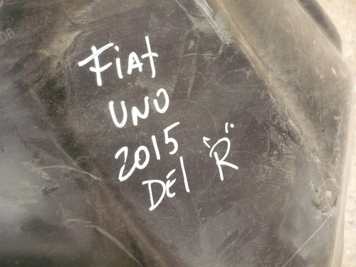 guardafango fiat uno 2015 der  c/detalles - lea descripción
