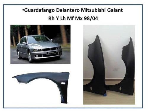 guardafango mitsubishi mx - mf - galand 1998 - 2004 tiburon