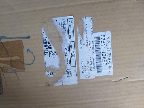 guardafango rh corolla 09-11 original 53811-12a90