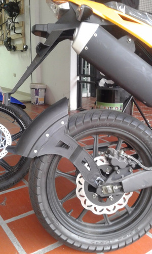 guardafango universal moto reforzado