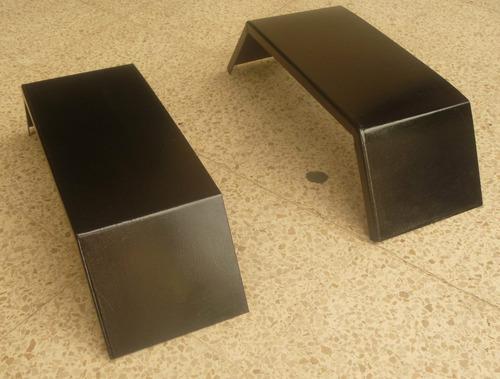guardafangos metalicos para remolques o carretones