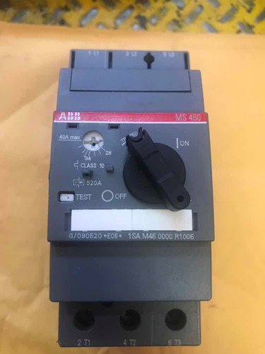 guardamotor abb ms450
