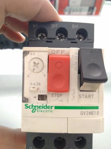 guardamotor schneider electric tesys gv2me10 4-6.3 amp