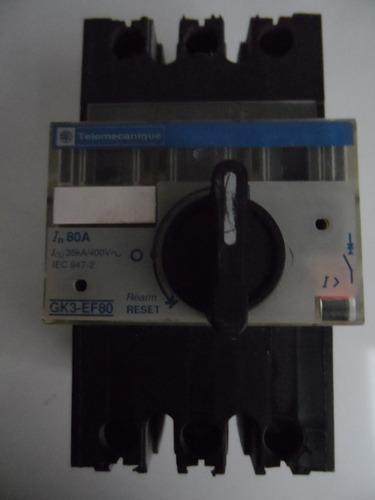 guardamotor telemecanique gk3-ef80