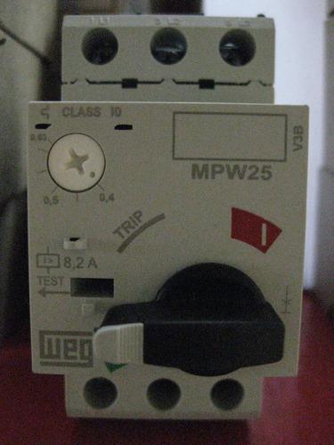 guardamotor termomagnetico rango 0.4- 0.63 amp mpw25-3-u010