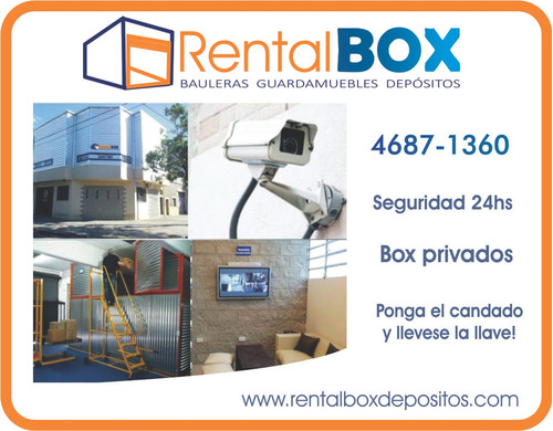 guardamuebles   rental box    bauleras depositos