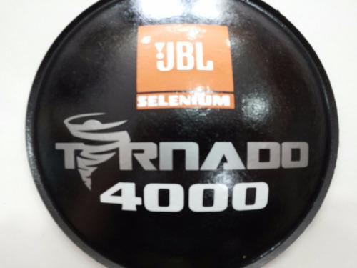 guardapó protetor p/ falante jbl selenium tornado 4000 160mm