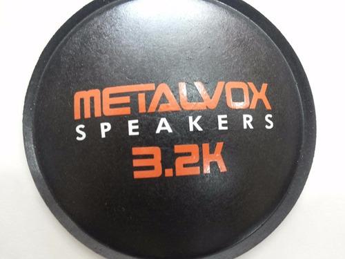 guardapó protetor para alto falante metalvox 3.2k 135mm