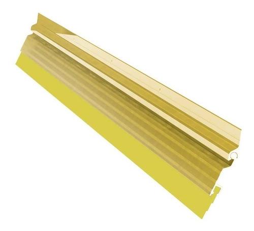 guardapolvo automático 100 cm aluminio dorado herralum nuevo