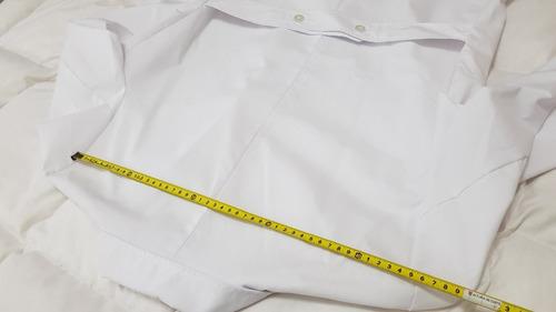guardapolvo blanco hombre talle 48 sastreria jose gonzalez