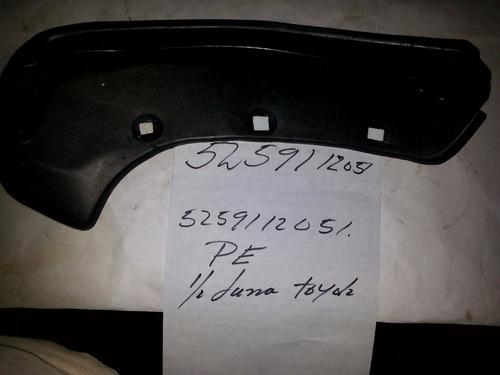 guardapolvo guardafango toyota 52591-12051