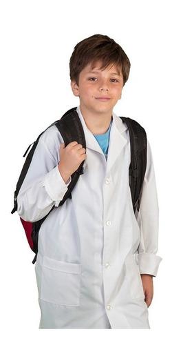 guardapolvo niño unisex talle 14 con botones