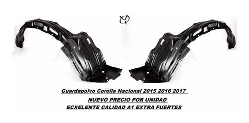 guardapolvo toyota corolla nacional 2015 2016 2017