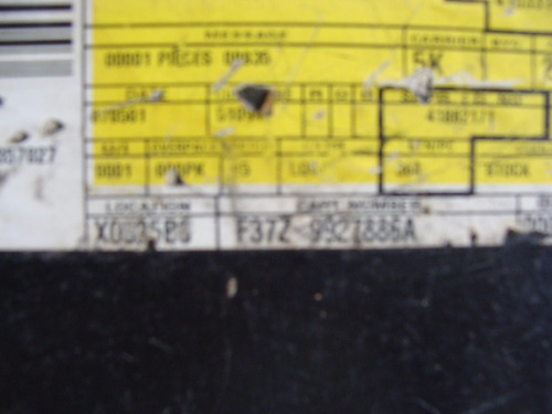 guardapolvo trasero derecho ford ranger 93/11 original
