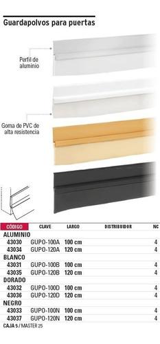 guardapolvos negro 100cm hermex 43033