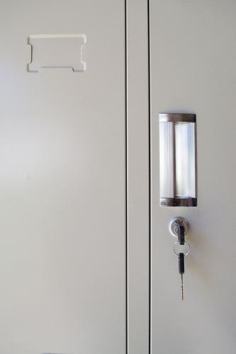 guardarropas de 6 puertas. lockers para vestuario