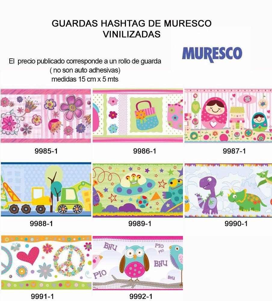 Guardas Hashtag Muresco Vinilizadas Muebles Y Cosas 250 00 En  # Muebles Y Cosas