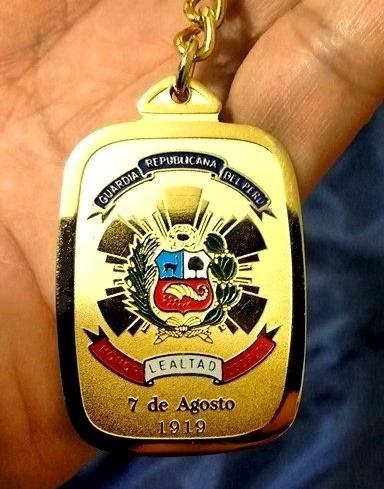 guardia republicana del perú - llavero de colección