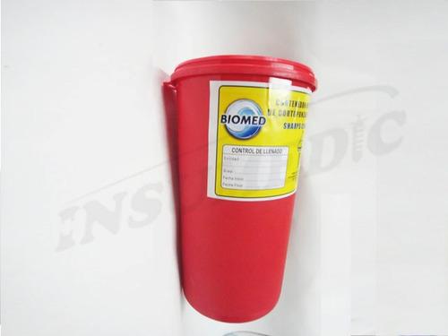 guardian deposito para cortopunzantes 3 litros
