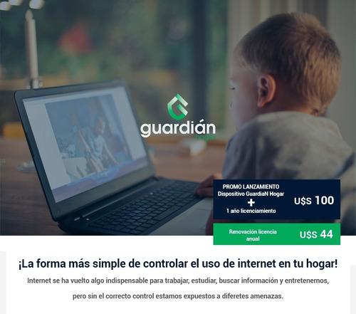 guardian hogar - tome control de internet en su hogar