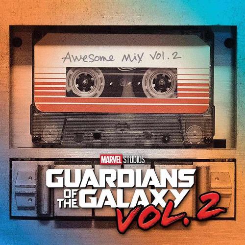 guardianes de la galaxia soundtrack peliculas 1 y 2 cd