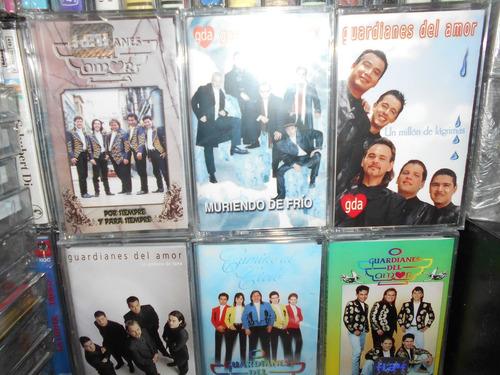 guardianes del amor lote de 6 cassettes nuevos en oferta
