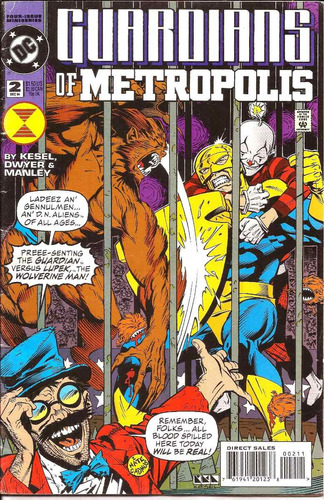 guardians of metropolis # 4 ( inglés )