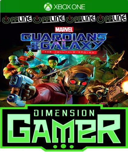 guardians of the galaxy telltale xbox one - n codigo offline