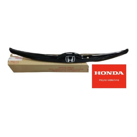 Guarnição Moldura Da Placa Honda Fit 2015 A 2019 Original