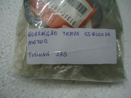 guarnição borracha tampa esquerd motor turuna original honda