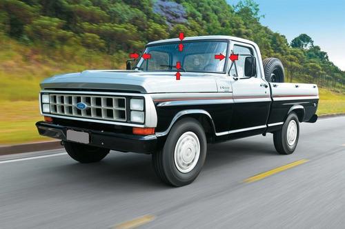 guarnição do para brisa (std) f100 f1000 caminhão 72/92