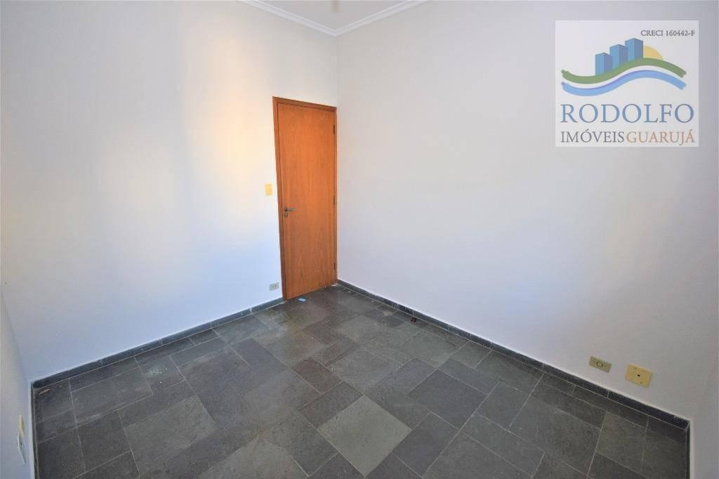 guarujá astúrias, 3 dts (1 suite) sacada, elevador, 1 vaga, 100 mts uteis. - ap0534