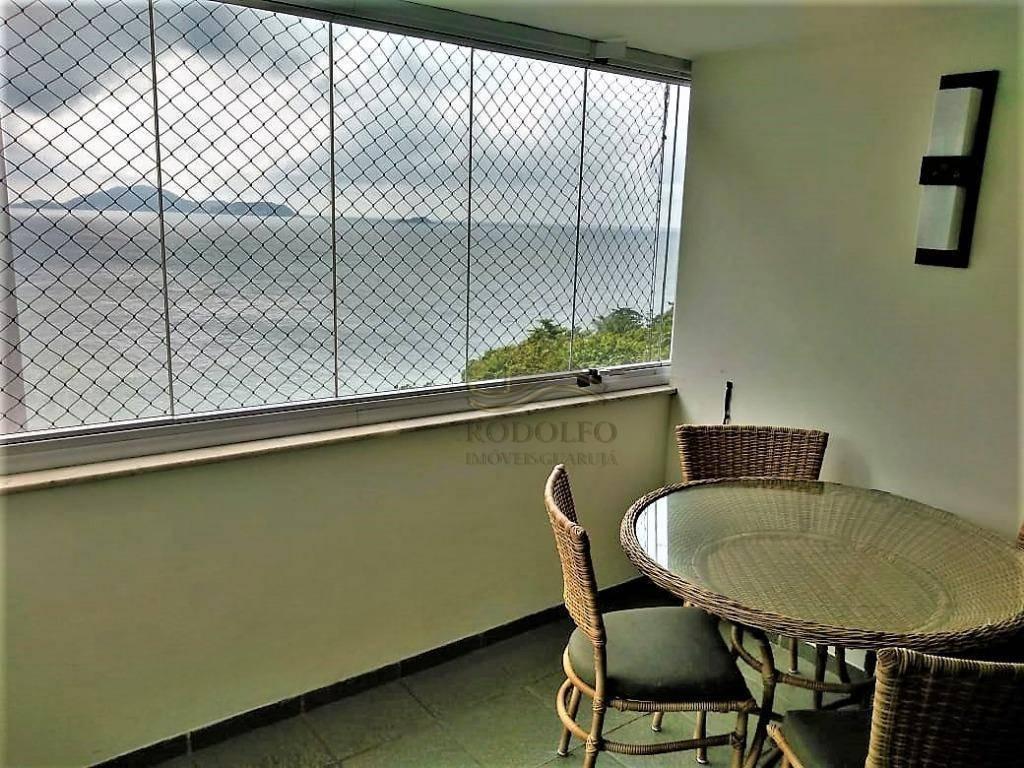 guarujá astúrias, apartamento beira mar com vista, localizado na praia das astúrias em região nobre.lazer completo!! - ap0868