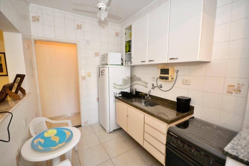 guarujá astúrias apartamento com lazer no prédio com 2 dts. elevador social e serviço, 1 vaga. - ap0898