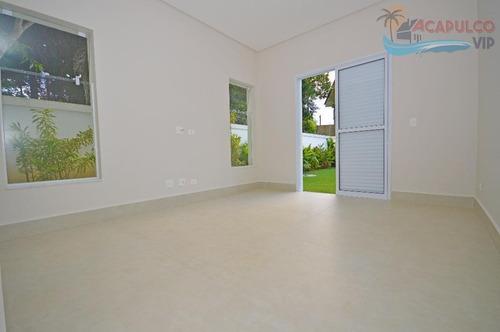 guarujá - cond park lane - residência nova - 4 suítes - 6 vagas !!! - ca0065