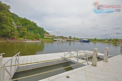 guarujá - condomínio marina guarujá - pier para embarcações de até 60 pés !!! - ca0050