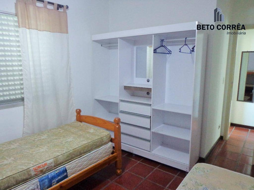 guarujá, enseada - amplo apartamento, mobiliado, 2 dorms, bem próximo a praia. - ap0300
